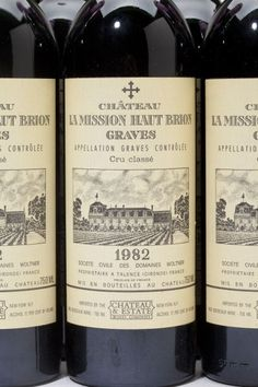 Chateau La Mission Haut Brion, 1982 Check out our extensive selection online at: www.benchmarkwine.com