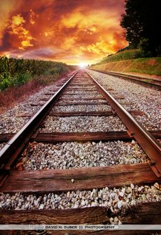 summer on the tracks by David M. Zuber on 500px