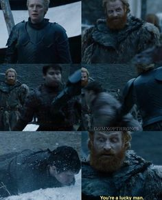 Game of thrones funny humour season 7 quotes. Brienne of Tarth, Tormund