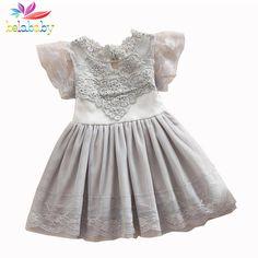 $8.62 (Buy here: https://alitems.com/g/1e8d114494ebda23ff8b16525dc3e8/?i=5&ulp=https%3A%2F%2Fwww.aliexpress.com%2Fitem%2FPrincess-Girls-Flower-Dress-2016-Summer-Children-Lace-Flower-Vestidos-Para-Ninas-Kids-Petal-Sleeve-Party%2F32653679025.html ) Belababy Princess Girl Dress 2017 Summer Children Lace Flower Vestidos Para Ninas Kids Petal Sleeve Party Dresses For Girls for just $8.62