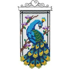 Herrschners® Peacock Elegance Beaded Banner Kit Was: $26.99                     Now: $19.99