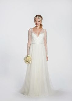 20 Pretty Perfect Long Sleeve Wedding Gowns - Aisle Perfect ®