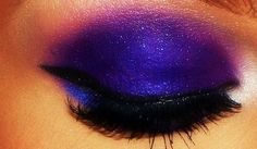 Eclectic blue by me ;) Love #MAC makeup