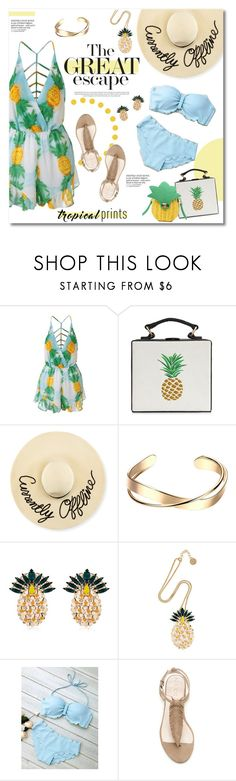 """""""The great escape"""" by violetta-valery ❤ liked on Polyvore featuring Eugenia Kim, Anton Heunis and MARA"""