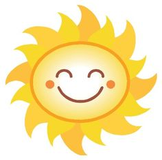 sunshine clip art sun clip art bright happy summer sun face rh pinterest com Free Smiley Faces Clip Art Collection Smiley-Face Emotions Clip Art