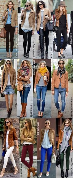 Outfits con campera camel