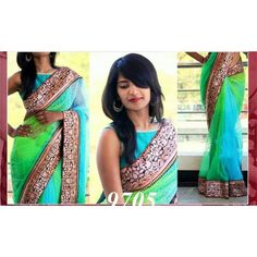 Multy Coloured Designer Saree