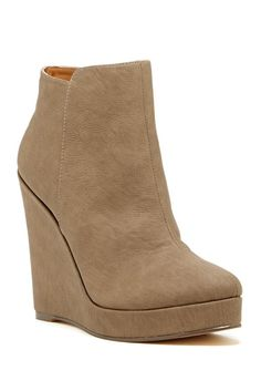 Wedge Bootie- my fave shoes for this season!