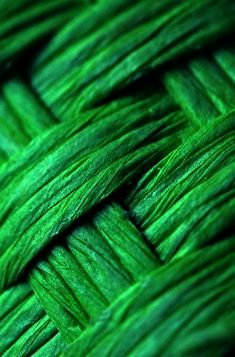Green Texture Fiber