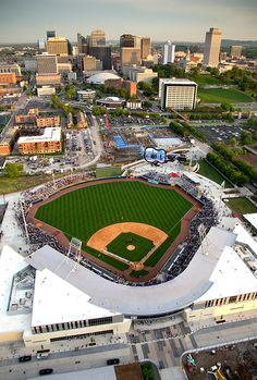 First Tennessee Park: Nashville Sounds AAA Pacific Coast League - new stadium 2015 Nashville Apartment, Sports Stadium, Minor League Baseball, Opening Day, Pacific Coast, Baseball Field, Amazing Places, Bro, Places To Travel
