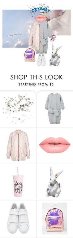 """""""He needs a good friend and I said I could be just that"""" by linnettebar ❤ liked on Polyvore featuring CO, Le Ciel Bleu, Acne Studios, Lime Crime, Lladró, adidas Originals and Mi-Pac"""