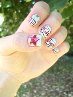 Nailstorming - Circus nails