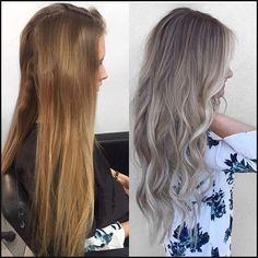7 Entzückende Asche Blonde Frisuren zu Versuchen | Hair Colors ... | Einfache Frisuren