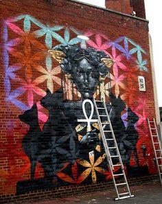 by Philth - UK (LP) #ravenectar #streetart #art #graffiti