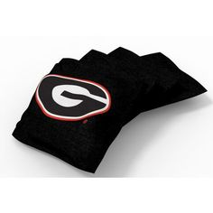 Wild Sports University of Georgia Beanbag Set Black - Outdoor Games And Toys, Outdoor Games at Academy Sports