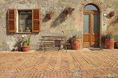 Resultado de imagen para puertas acceso casas de campo italianas