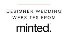 Designer+Wedding+Websites+from+Minted