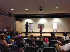 https://flic.kr/p/xDnxSy   Eric Fulford - July 21, 2015   Eric wowed crowds with his on the spot illustration of superheroes imagined by the audience!  July 21, 2015.