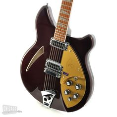Rickenbacker 360 75th Anniversary Plum 2006 Mint Limited Edition Electric Guitar