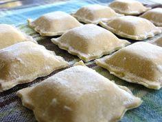 Cocina Sin Gluten: Ravioles de Ricota y Jamón