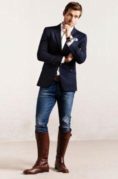 Trendencias Hombre - The Equestrian Collection: Massimo Dutti se lanza al mundo de la moda subido a caballo
