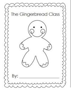 Cowboy Gingerbread Man Coloring Page See More Take Home Backpack Thing With My Kids I Have Seen Teachers Do It Here And