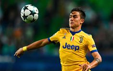 Download wallpapers Dybala, ball, football stars, Paulo Dybala, Juve, footballers, Juventus, Italy, Serie A