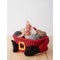 サンタさんの小物いれ : 手編みでクリスマス☆ 雑貨と飾りとアクセサリー【海外編】 - NAVER まとめ