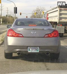 License Plate WIN.  It takes a second...