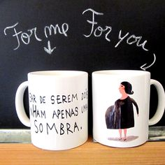 Mug  illustrations by Afonso Cruz