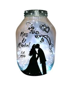#Anniversary, Hand Painted X-LARGE Candle holder Lantern