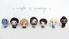 """""""Game of Thrones"""" characters - polymer clay"""