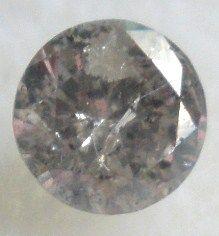 0.20 carats Round Silver Champagne DIAMOND 3.74mm Loose Genuine Diamond