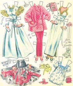 """402339210_o* 1500 free paper dolls at artist Arielle Gabriel""""s The International Paper Doll Society also free China paper dolls The China Adventures of Arielle Gabriel *"""