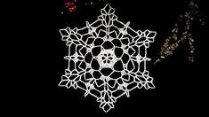 How to Crochet Snowflake #18