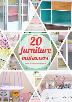 Needing some inspiration for DIY Furniture projects? Look no further! I've selected 20 of the best furniture projects for you to enjoy and be inspired by