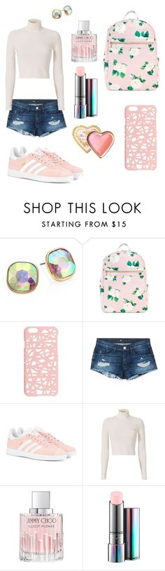 """Inspiração de look"" by rochelen-jardim ❤ liked on Polyvore featuring ABS by Allen Schwartz, Miss Selfridge, 3x1, adidas Originals, A.L.C., Jimmy Choo, MAC Cosmetics, Too Faced Cosmetics, love and look"