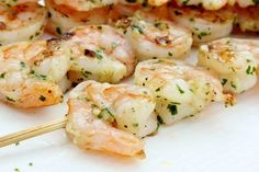 Lemon Garlic Grilled Shrimp by olgasflavorfactory  #Shrimp #Lemon #Grill #Healthy