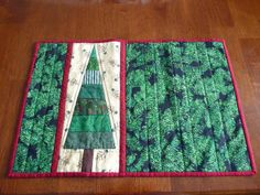 Finished placemat by hayabusagirl, via Flickr