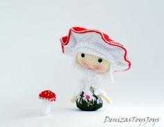 Ravelry: Project Gallery for Amanita muscaria Doll. Tanoshi series toy. pattern by Tatyana Korobkova