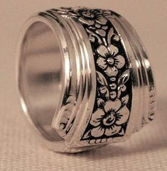 Fortune Spoon Ring - Roses And Teacups