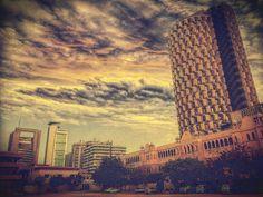 HBL Plaza, Karachi Pakistan. by Taha Siddiqui on 500px