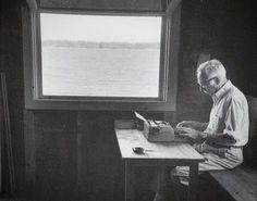 E. B. White boat house/writing shack, Brooklin, Maine