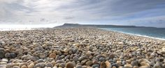 Chesil Beach in Dorset