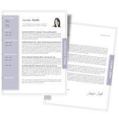 CV Template • CV Template Package Includes: Professional layout for 2 pages (CV,CL). File format: Microsoft Word • Curriculum Vitae Templates • Resume Templates • Cover Letter Templates • CVspecial.com