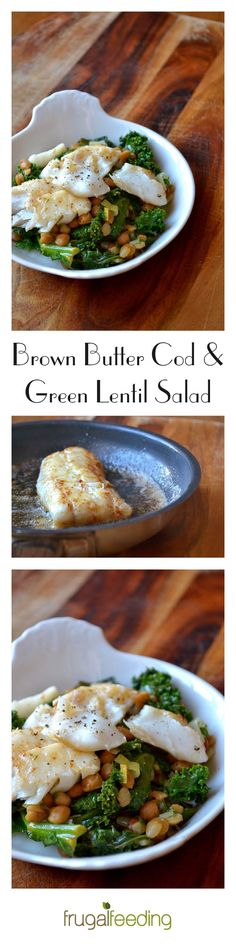 A light yet hearty cod salad, perfect for a warm start to spring. Layered with green lentils and British kale for added flavour. Click to read the recipe...