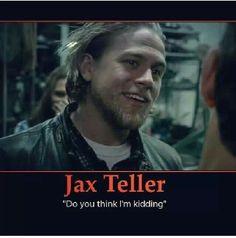 JAX TELLER- Do you think I'm kidding? Hysterical scene!!!