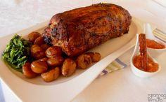 7gramas de ternura: Lombo de Porco Recheado
