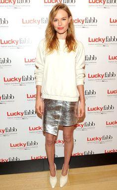 #falda plateada #looknavidad