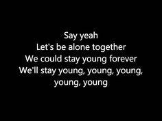Fall Out Boy ~ Alone Together [Lyrics]